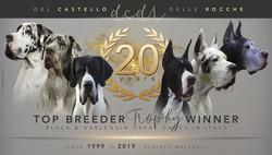 20 years Top breeder trophy winner