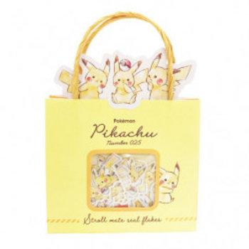 紙袋貼紙_Pikachu 比卡超