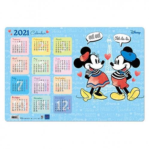 (預訂20日)月曆台墊_Mickey