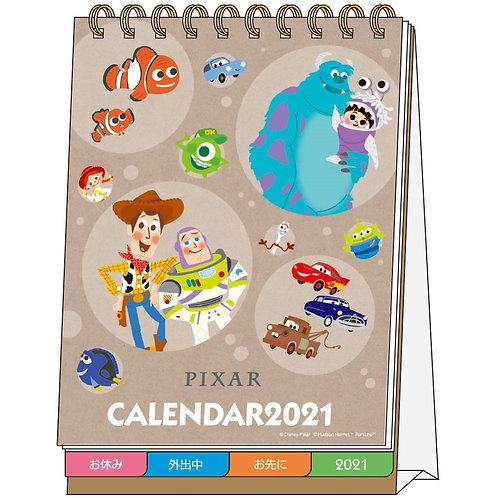 (預訂20日)座枱月曆_Pixar