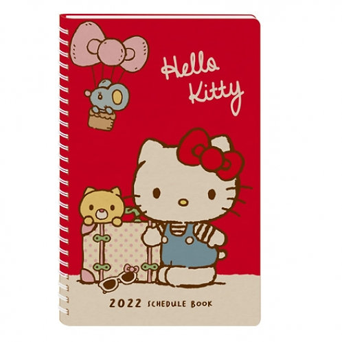 (預訂20天)40K Schedule(台灣假期)_Hello Kitty