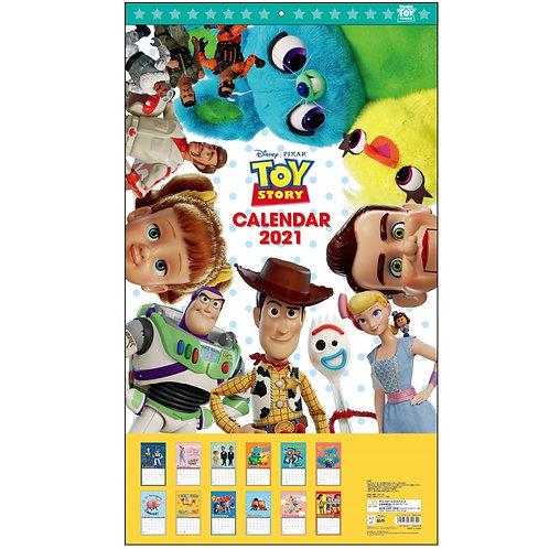 (預訂20日)掛牆月曆_Toy Story