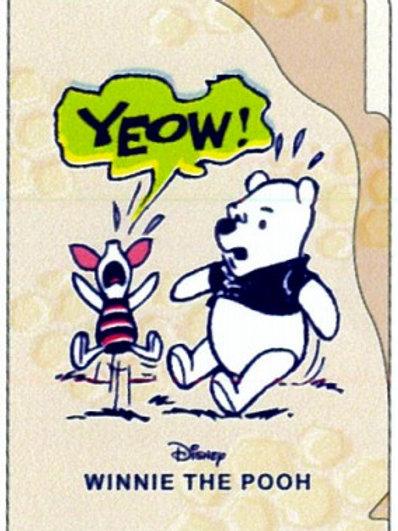 A5 3層File_Pooh 小熊維尼