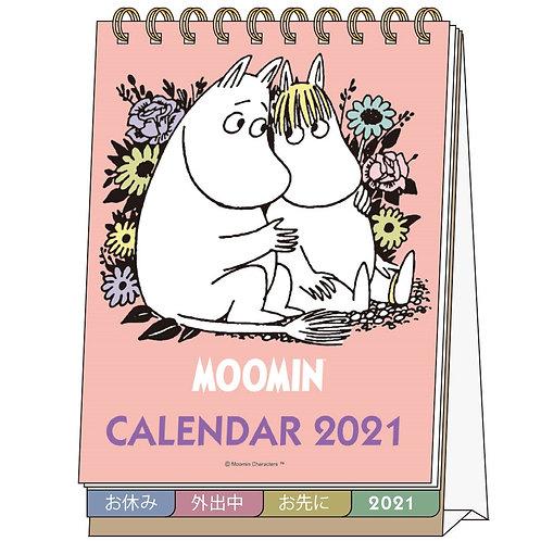 (預訂20日)座枱月曆_Moomin