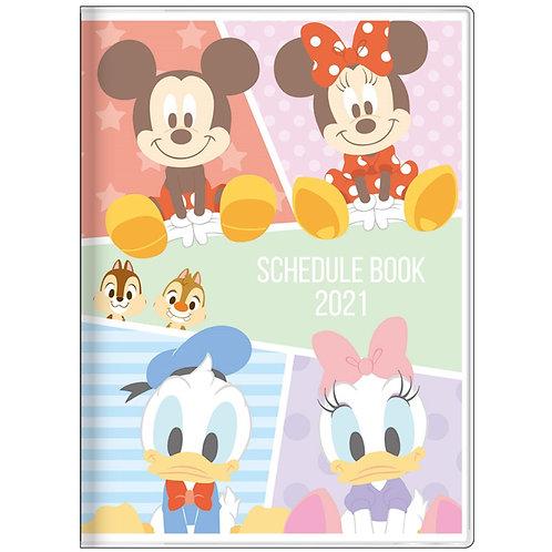(預訂20日)A6 Schedule_Mickey & Friends