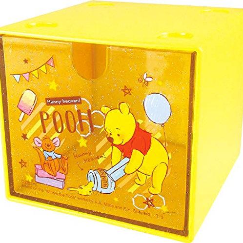 方格櫃桶_Pooh 小熊維尼