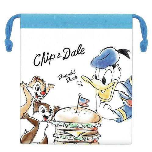 索袋_Donald Duck 唐老鴨 C&D 大鼻與鋼牙