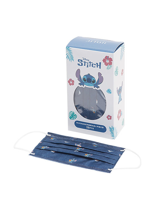 (預訂20天)口罩20個_Stitch 史迪仔