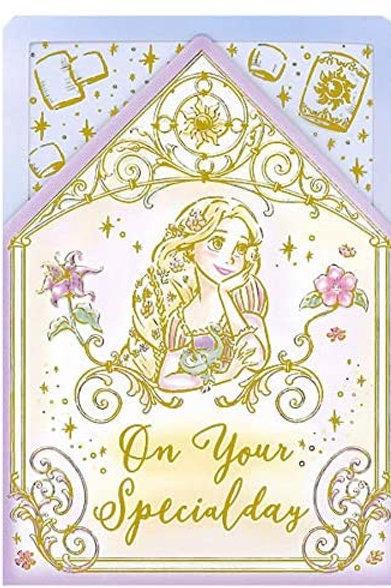 立體卡_Rapunzel 長髮公主
