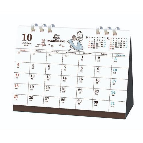 (預訂20日)座枱月曆_Alice