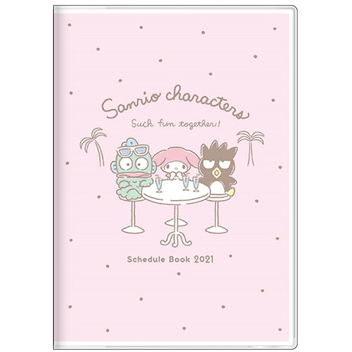 (預訂20日)B6 Schedule_Sanrio