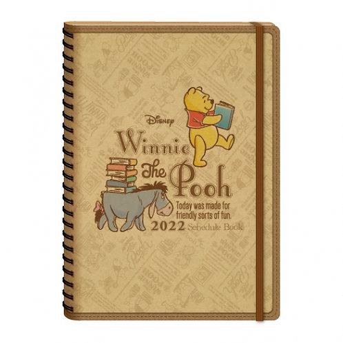 (預訂20天)A5 Schedule(台灣假期)_Pooh 小熊維尼
