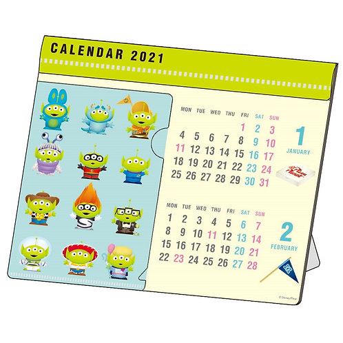 (預訂20日)座枱月曆_Aliens