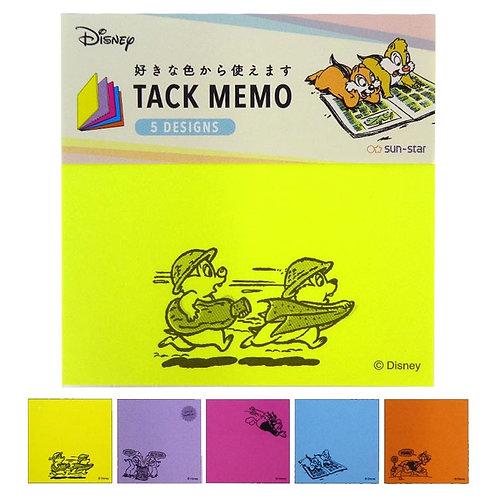 方形Sticky Memo_Chip & Dale