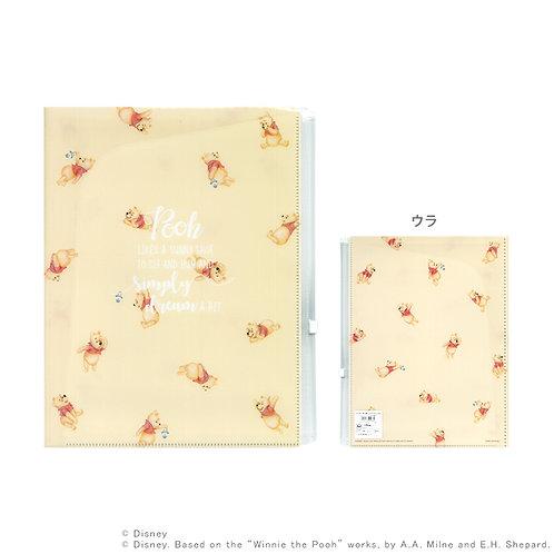 6層File連Zip袋_Pooh 小熊維尼