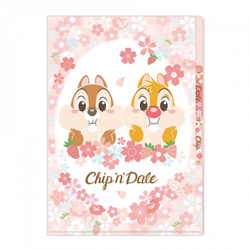 {預訂15天}三層文件夾_Chip&Dale