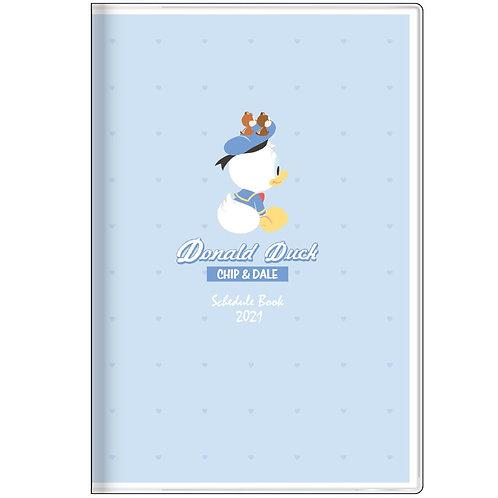 (預訂20日)B7 Schedule_Donlad Duck