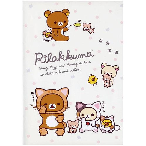 A5 Notebook_鬆弛熊