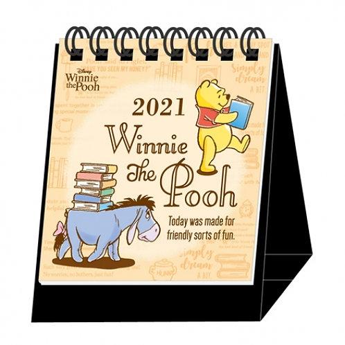 (預訂20日)迷你座枱月曆_Pooh