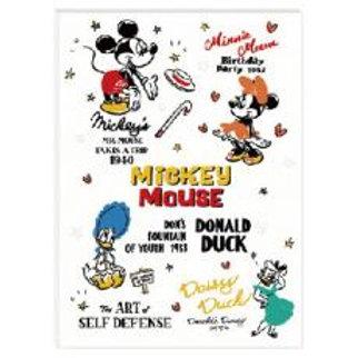 B5 Notebook_Mickey 米奇老鼠 Donald Duck 唐老鴨