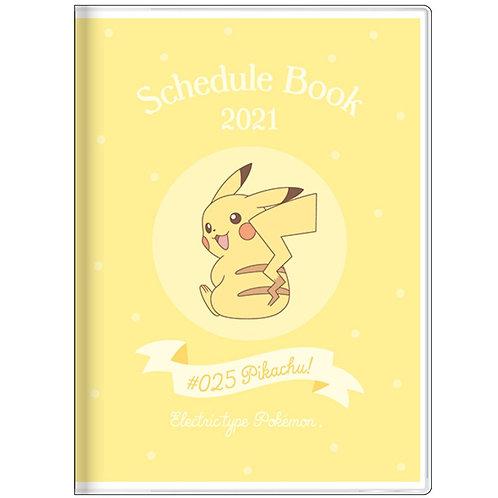 (預訂20日)A6 Schedule_Pokemon
