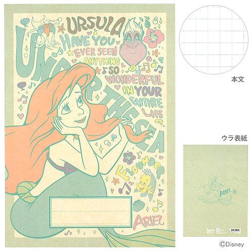 B5 Notebook_Ariel 美人魚