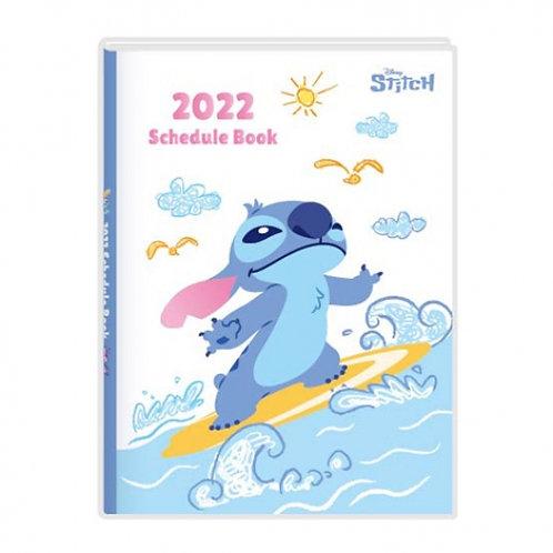 (預訂20天)A6 Schedule(台灣假期)_Stitch 史迪仔