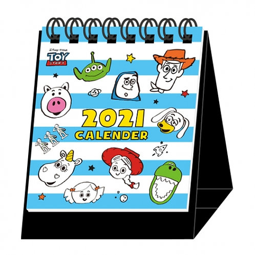 (預訂20日)迷你座枱月曆_Toy Story
