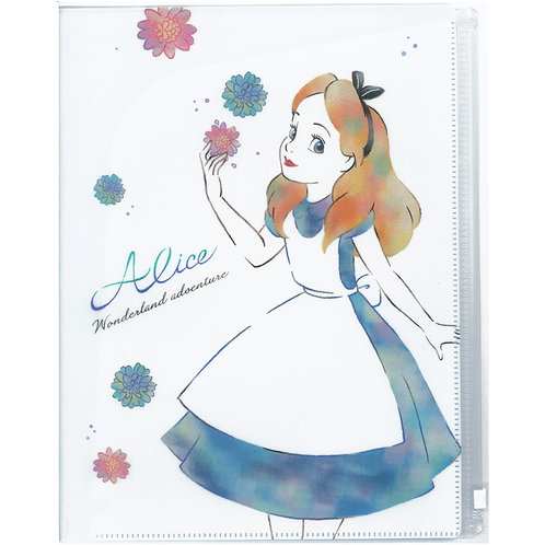 多層File+拉鍊文件夾_Alice