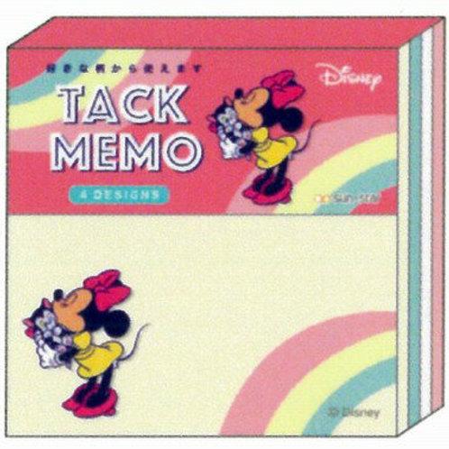 方形Sticky Memo_Minnie
