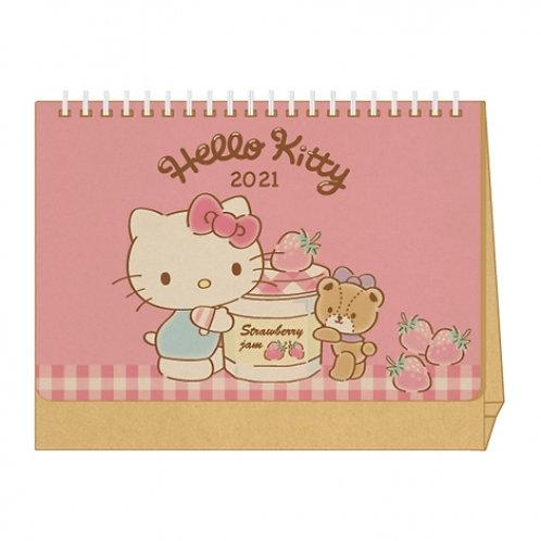 (預訂20日)座枱月曆_Kitty