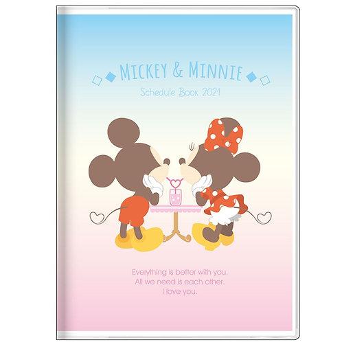 (預訂20日)A6 Schedule_Mickey