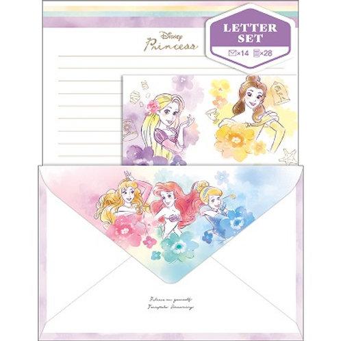 信封信紙Set_Princess 公主