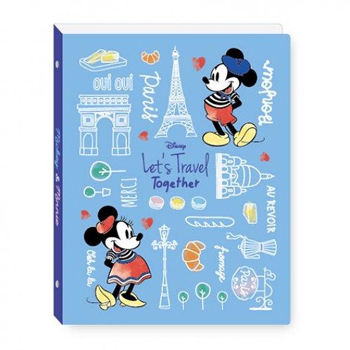 (預訂20日)B5活頁夾_Mickey