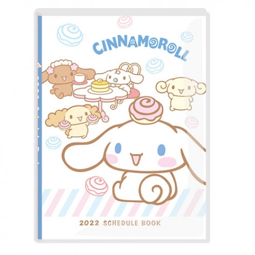 (預訂20天)A6 Schedule(台灣假期)_Cinnamoroll 玉桂狗