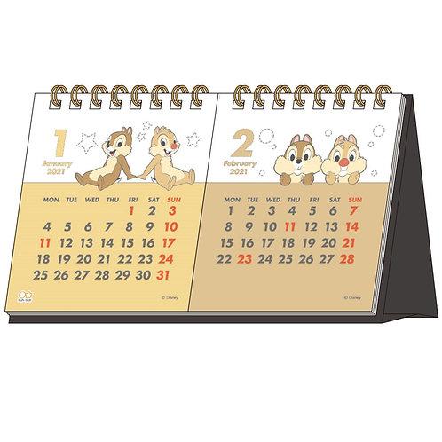 (預訂20日)座枱月曆_Chip&Dale
