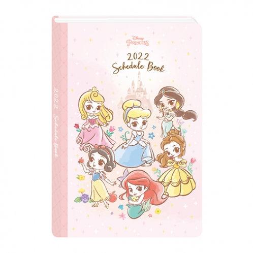 (預訂20天)B6 Schedule(台灣假期)_Princess 公主