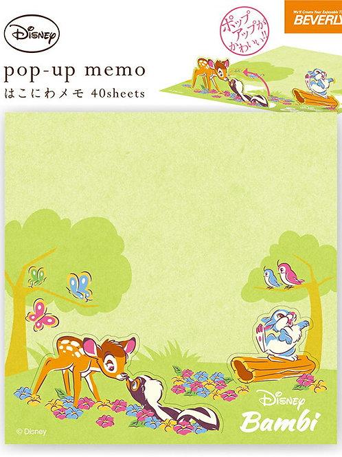 PopUp Memo_Bambi
