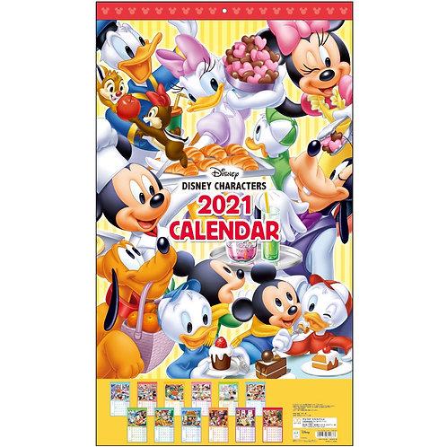 (預訂20日)掛牆月曆_Disney Character