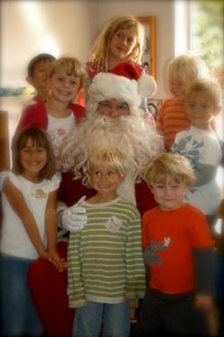 Santa's Visit at Sunflower Preschool