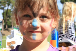 Face Painting at Park Day!