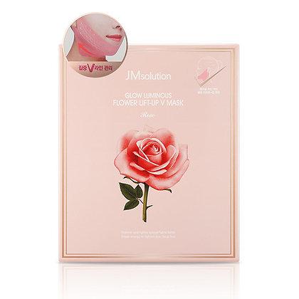 Маска для подтяжки контура лица с розовой водой | JMsolution