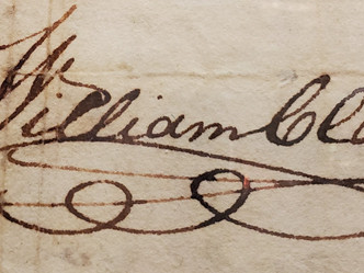 BLOG: Research Heaven, Pt. 2--Documents pertaining to William and Julia Clark