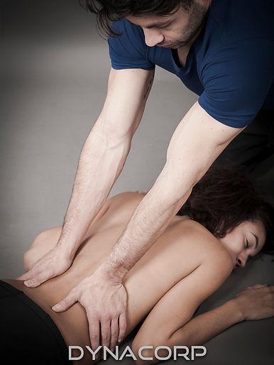 formation massage bien-être DYNACORP pour déficients visuels
