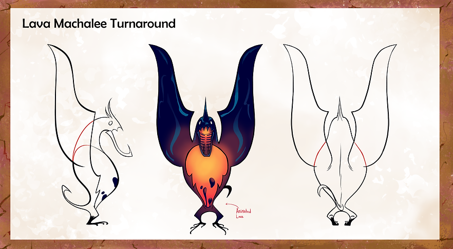 lava Machhalee Creature turnarounds.png
