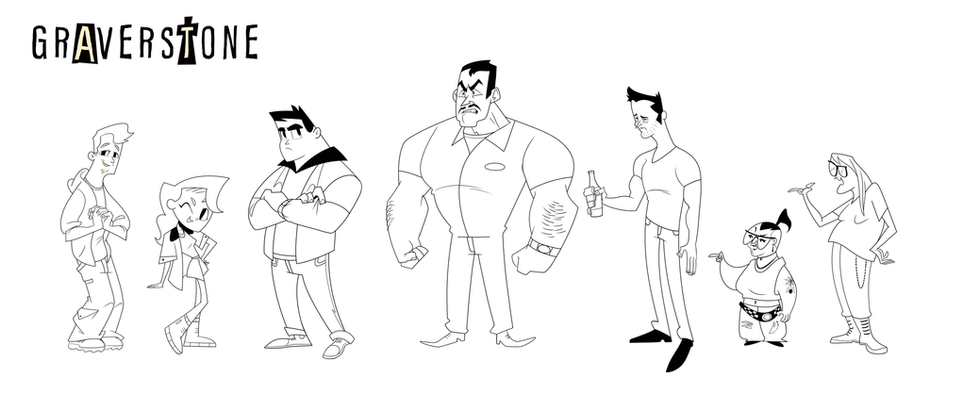 graverstone all the characters.png