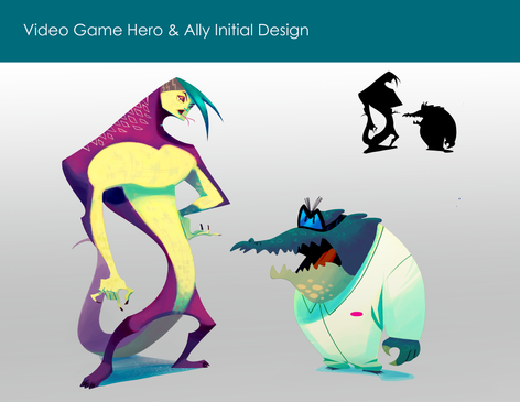 videogame hero and ally initial design.p