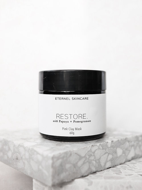 Restore. Pink clay mask