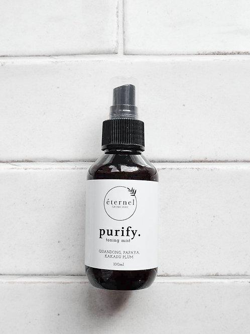 Purify. Toning Mist