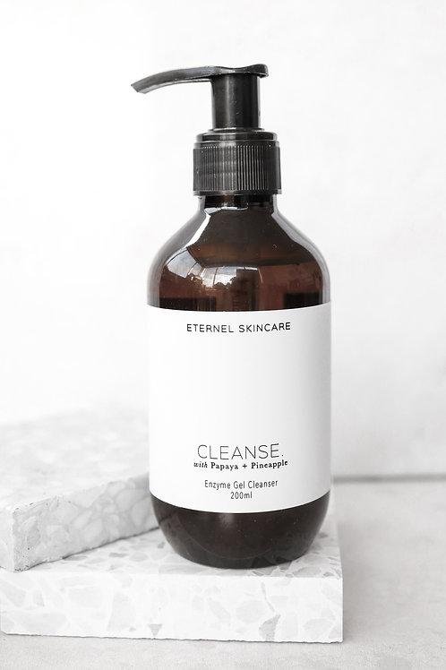 Cleanse. Enzyme Gel Cleanser